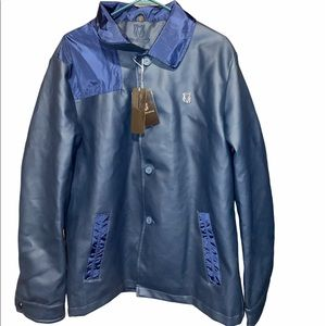 Vg World Collection Luxury Leather Jacket
